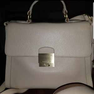 Isaac Mizrahi Leather Top Handle Satchel